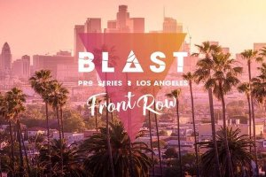 BLAST Pro Series Los Angeles logo