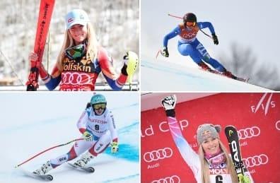 Alppihiihdon maailmancup-aikataulu naiset